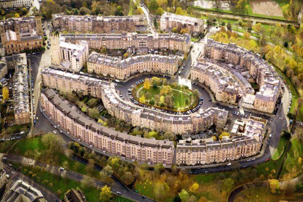 Birds-eye view of Glasgow apartments unveiled