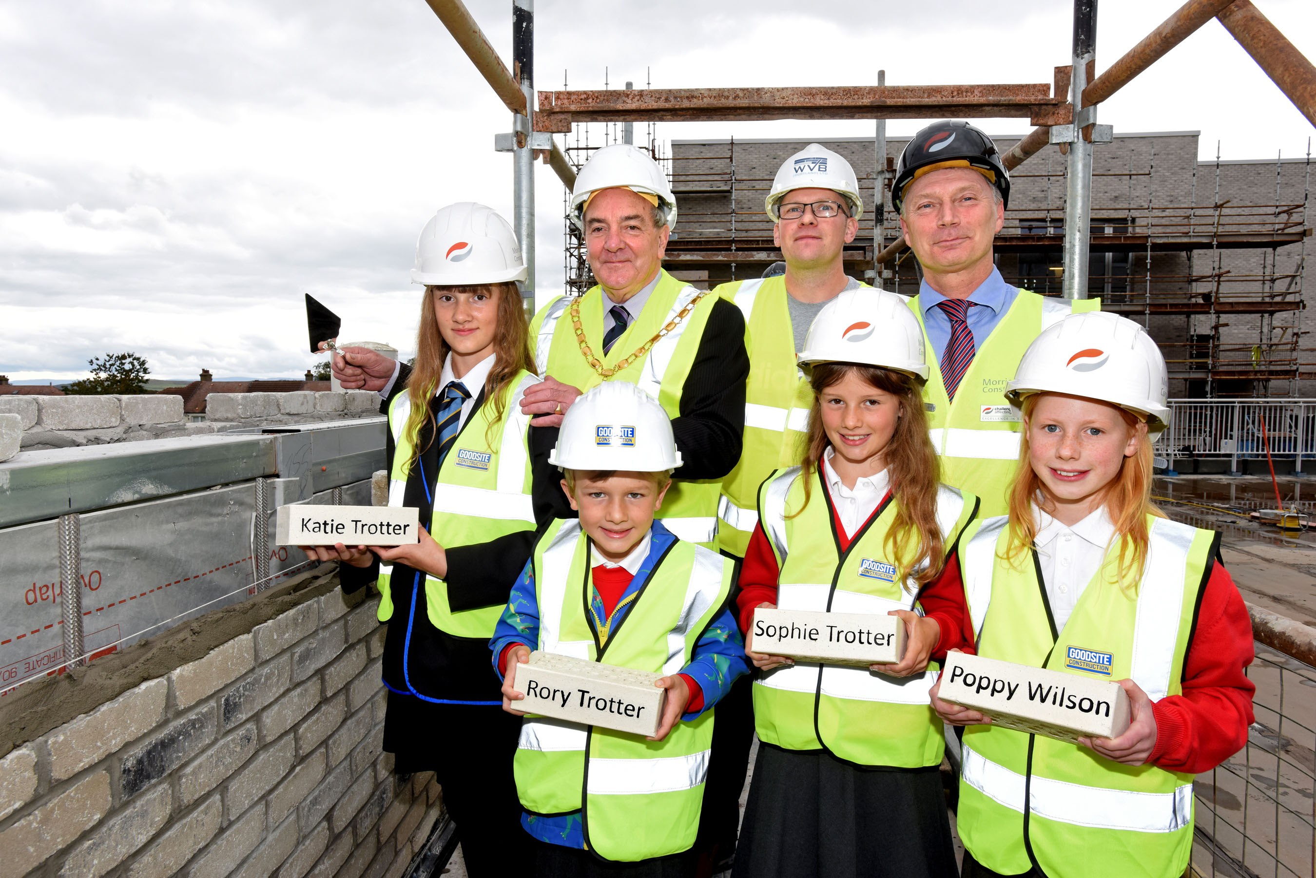 Topping Out Milestone For 163 44m Largs Academy Project