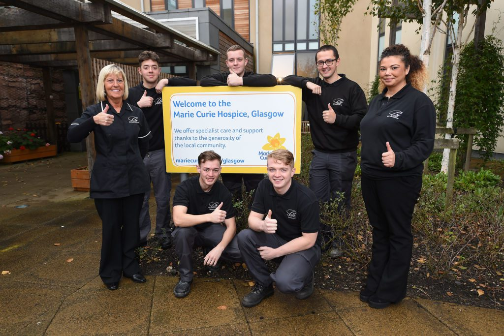 City Building Apprentices Boost Glasgow Hospice Project