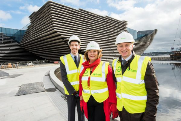 Cabinet Secretary for Culture visits V&A Dundee