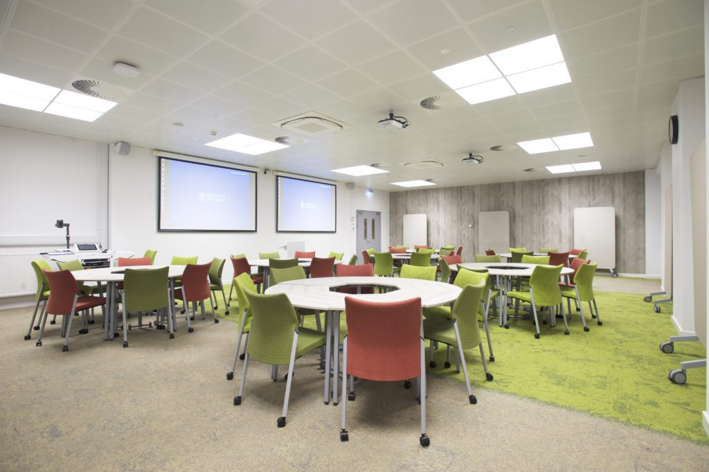 University Classroom Design Principles To Facilitate Learning ~ A natural choice hlm designs future learning spaces