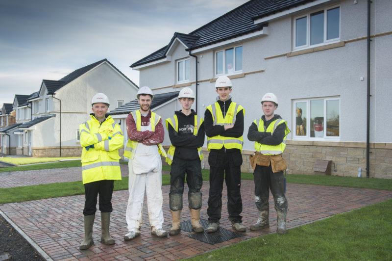 West Lothian Social Housing Programme Brings Local Jobs