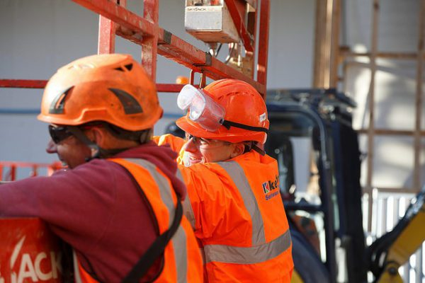 Pilot programme aims to improve wellbeing of construction workers