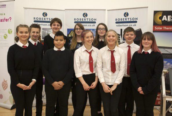 Elgin pupils learn valuable skills on design task