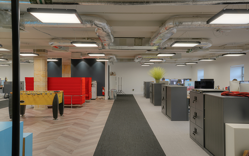 East kilbride firm proves a good 39 fit 39 on leith project for Interior design agency edinburgh