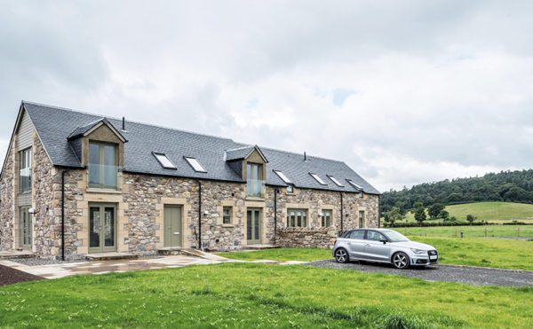 A natural choice for Stirlingshire farm renovation
