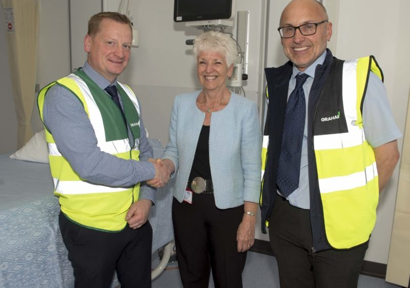 Phase One Of 163 28m Inverness Hospital Upgrade Complete