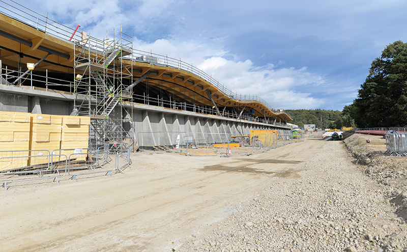 The perfect blend: PERI formwork systems boost £140m distillery and