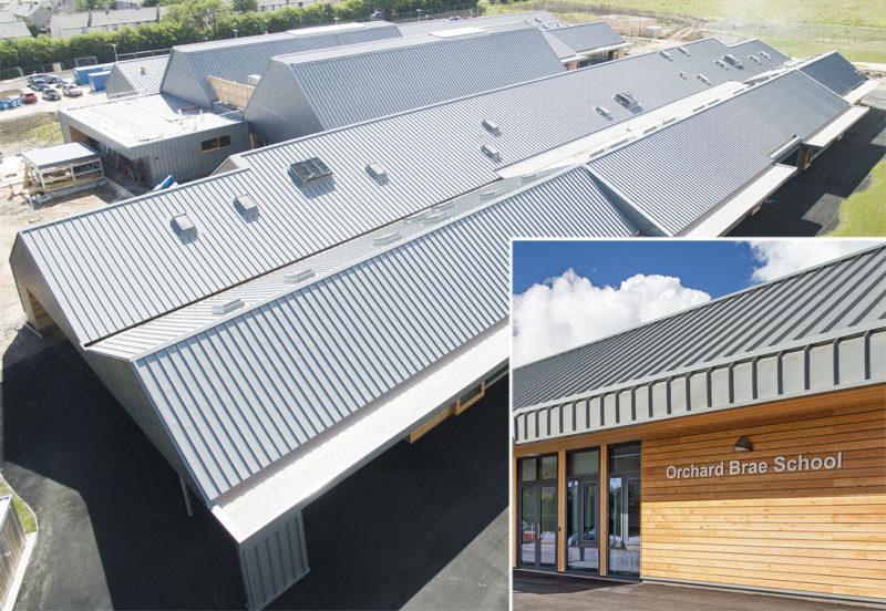 New School Roof Doesn T Fall Flat Project Scotland