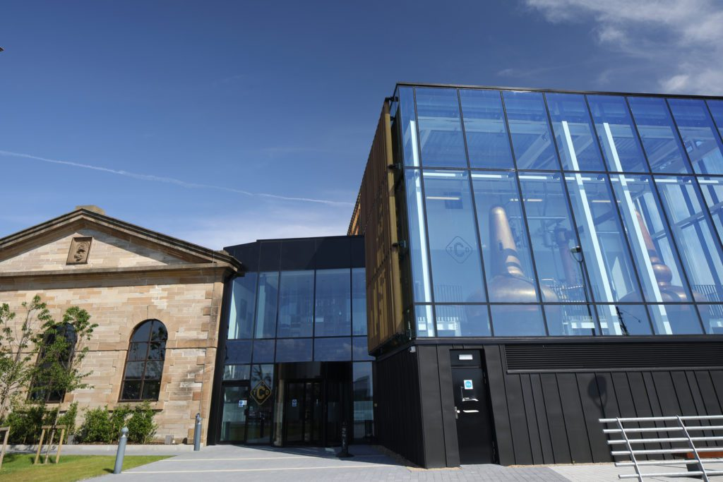 Curtain Wall System Shows Real Spirit Project Scotland