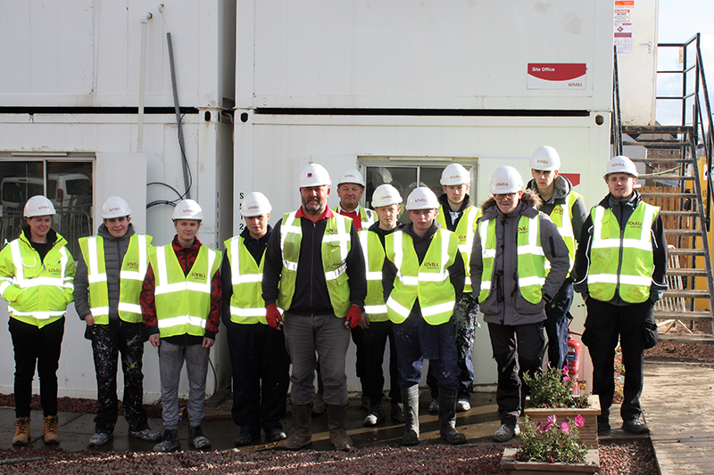 Lovell Gives Trainees First Hand Look At Active Bathgate