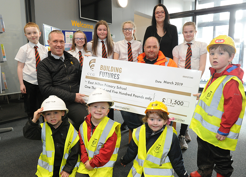 Ccg Donation Helps School Invest In Cpr Teaching Kit