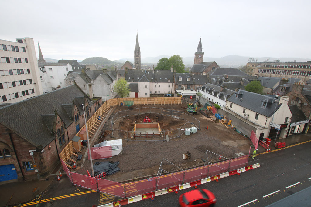 Morrison Gets To Work On Inverness City Centre Homes