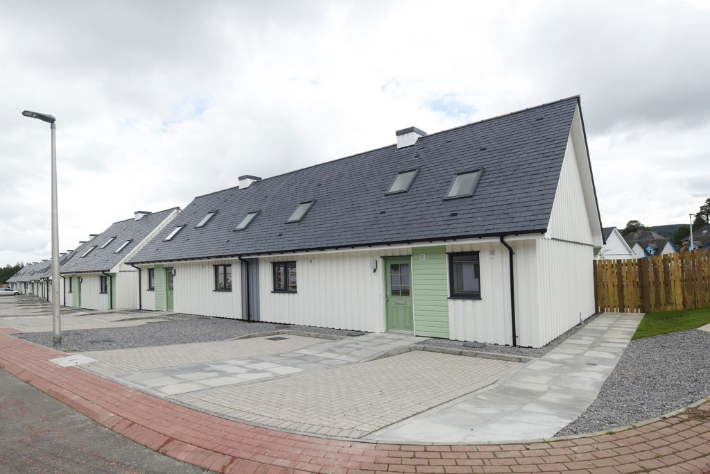 New Highland Residential Development Complete Project