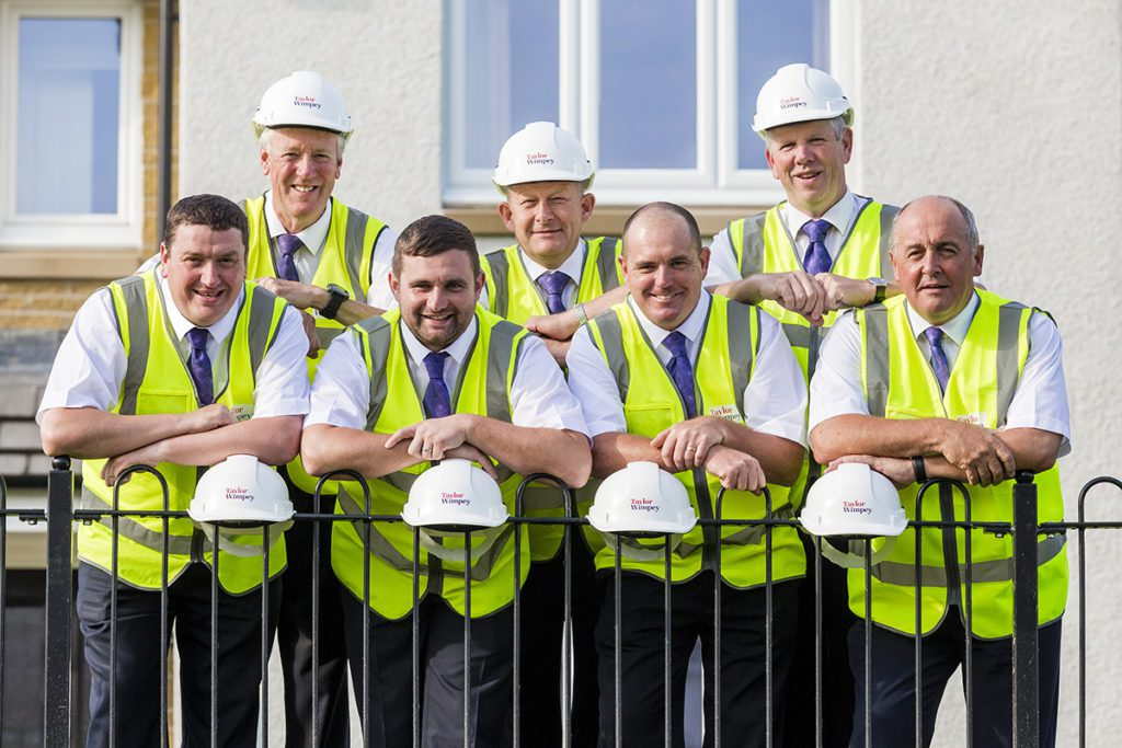 Top Ten Taylor Wimpey Site Managers Achieve Award